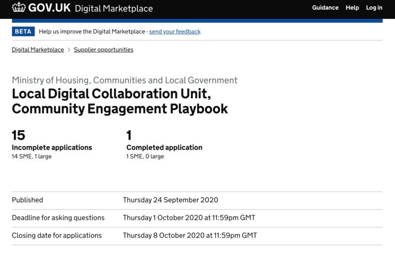 Digital Marketplace Playbook