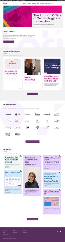 LOTI website