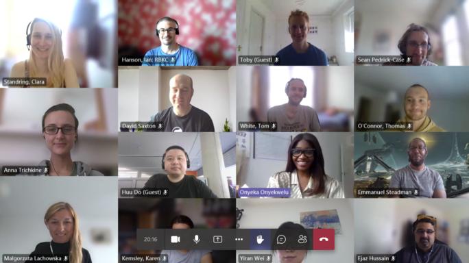 Screenshot from ONS Data Skills Bootcamp 26 July 2021
